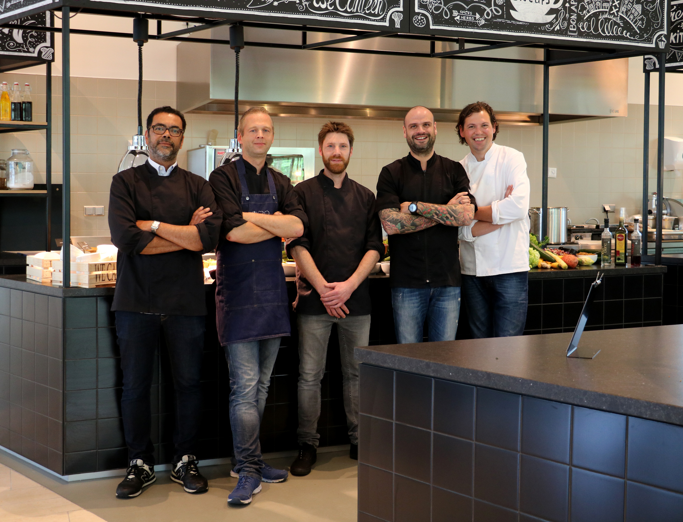 Chefs van We Canteen op Masterclass in Heempark