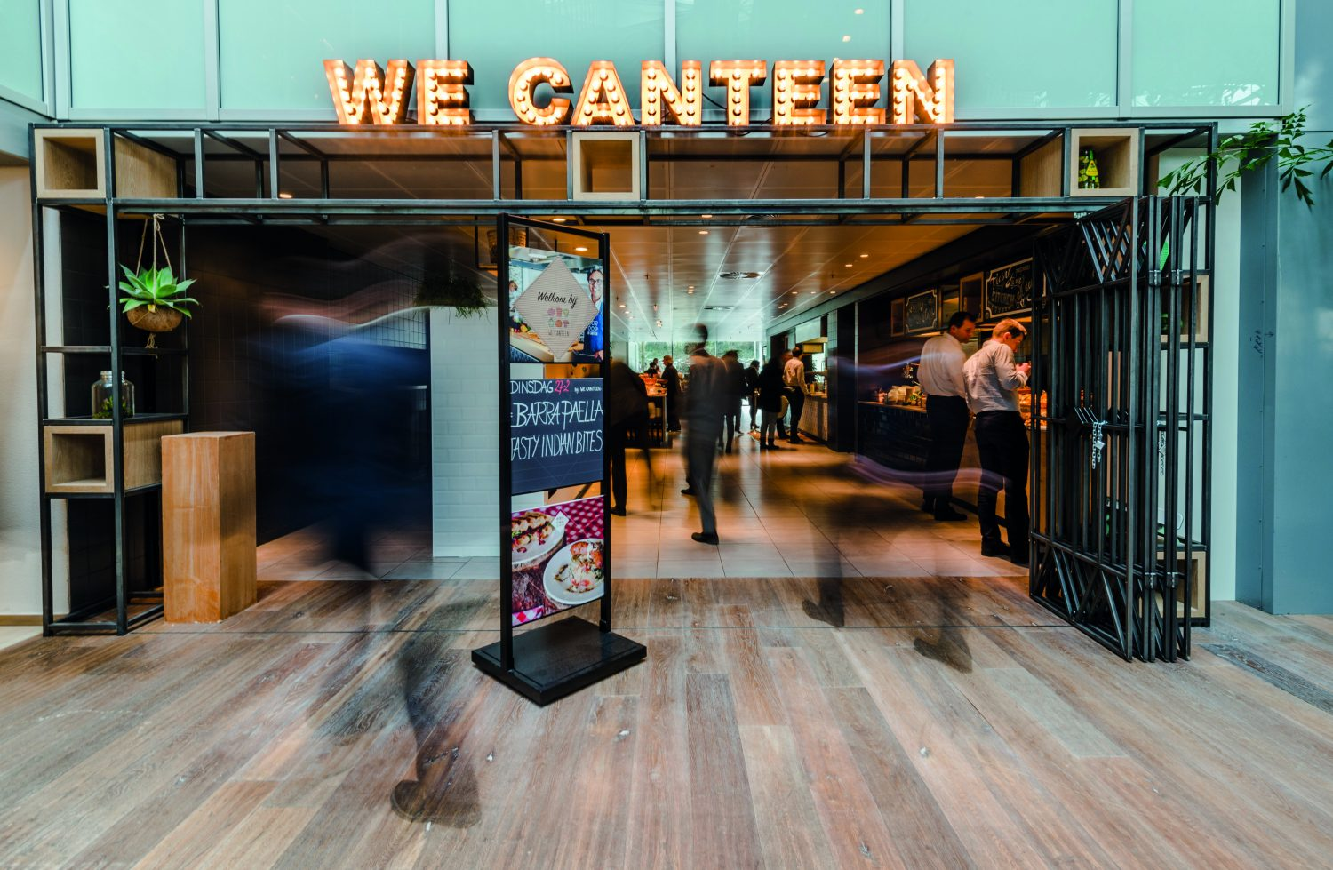 We Canteen entree WTC Amsterdam
